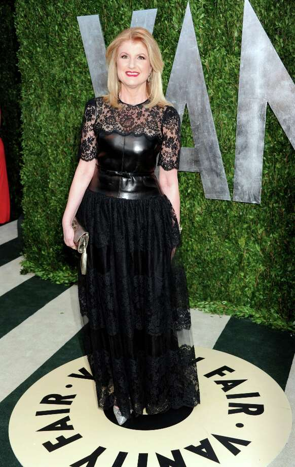 Author Arianna Huffington arrives at the 2013 Vanity Fair Oscars Viewing and After Party, Sunday, Feb. 24 2013 at the Sunset Plaza Hotel in West Hollywood, Calif. (Photo by Evan Agostini/Invision/AP) Photo: Evan Agostini, Associated Press / Invision