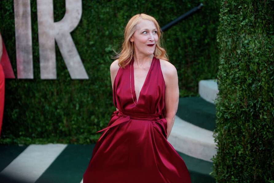 Patricia Clarkson arrives for the 2013 Vanity Fair Oscar Party on February 24, 2013 in Hollywood, Ca