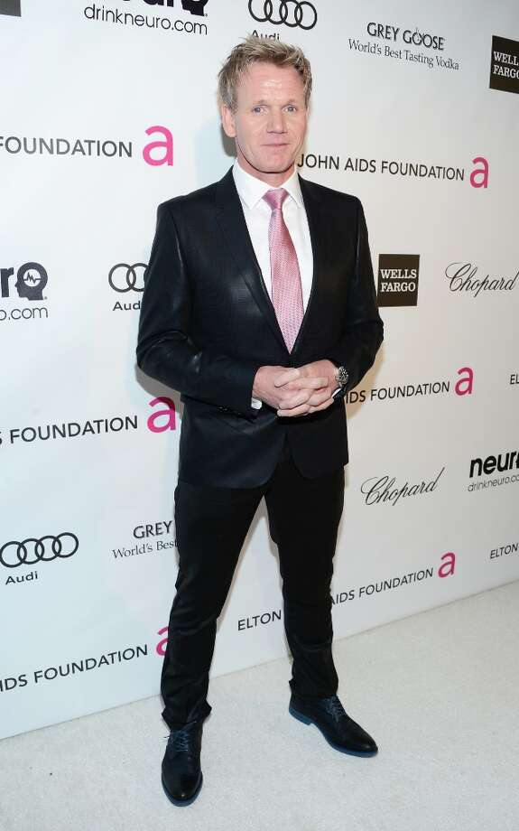 WEST HOLLYWOOD, CA - FEBRUARY 24:  TV personality/chef Gordon Ramsay attends the 21st Annual Elton John AIDS Foundation Academy Awards Viewing Party at Pacific Design Center on February 24, 2013 in West Hollywood, California. Photo: Jason Kempin, Getty Images For EJAF / 2013 Getty Images