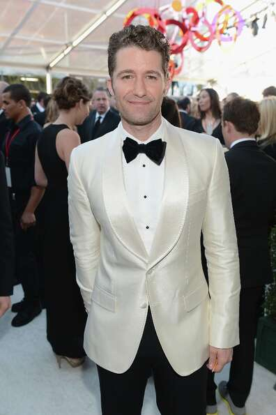 WEST HOLLYWOOD, CA - FEBRUARY 24:  Actor Matthew Morrison attends the 21st Annual Elton John AIDS Fo