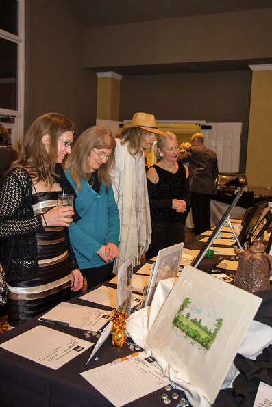 Were you Seen at the Upstate Artists Guild's 2nd Annual Black & White Gala at the Normanside Count