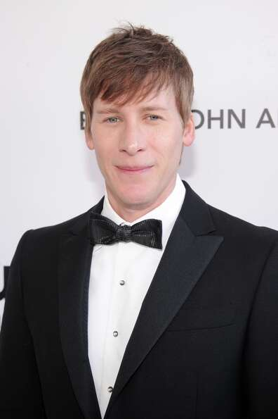 Writer Dustin Lance Black attends the 21st Annual Elton John AIDS Foundation Academy Awards Viewing