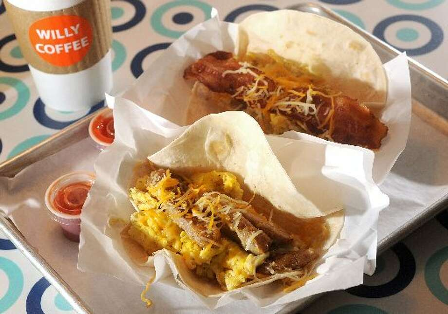 Willy Burger's Breakfast Tacos. Guiseppe Barranco/cat5