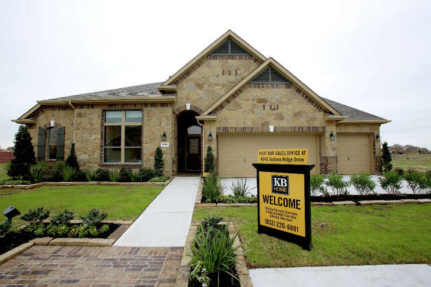 The base price for the one-story KB Home model is around $240,000. Photo: Thomas B. Shea / © 2012 Thomas B. Shea