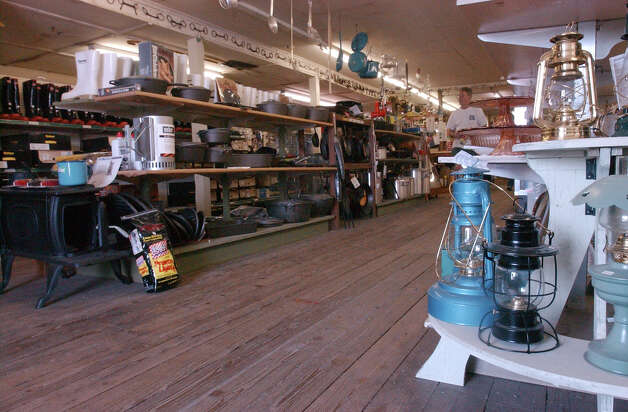 Setzer Hardware with its bare wood floor, hand built store fixtures, personal service and nails by the pound.  Enterprise File Photo Photo: SCOTT ESLINGER, STAFF PHOTOGRAPHER / BEAUMONT ENTERPRISE