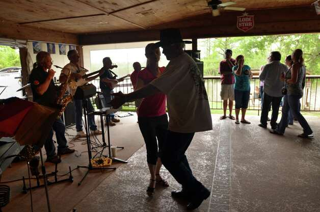 "Pine Tree Lodge on the bayou in Labelle Delanea Tallent of Beaumont: ""Every time we had a Boudreaux family get together we would go to Larry's. Our Pops would teach everyone how to Cajun dance. And we all danced together! He's a ladies man ;) Oh and when we were little it was a grocery store my parents had a charge account and I would go pick up groceries on my bike!""   Beth Rankin/cat5 Photo: Beth Rankin"