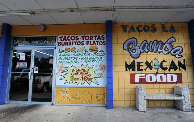 "Tacos La Bamba Alan Ponce of Beaumont: ""We didn't have a whole lot of money when we moved to Beaumont. My mother would walk with us to tacos la bamba and buy us lunch with what little she had. They knew us by name and Carlos was always very nice to us. They still uphold that same attention to customers to this very day.""  Tammy McKinley/The Enterprise Photo: TAMMY MCKINLEY"