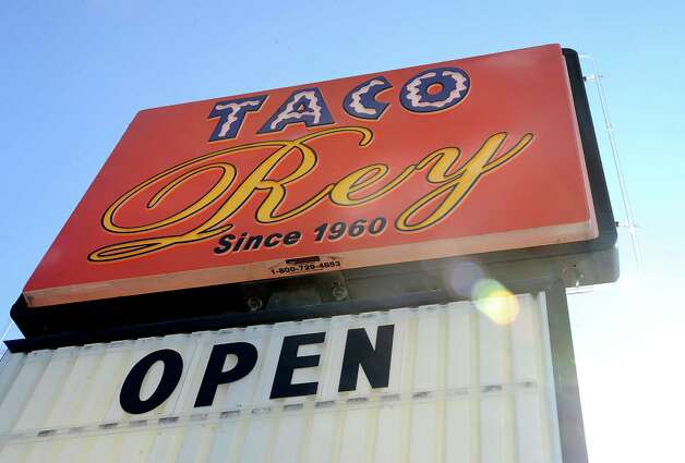 Taco Rey, an eclectic and super-fun Mexican/Tex-Mex restaurant in Nederland offers amazing food to go along with its fun decor and walls that offer a walk down memory lane. Photo taken: Randy Edwards/The Enterprise Photo: Randy Edwards