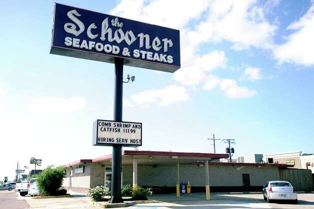 "The Schooner Seafood & Steaks in Nederland Jena Aldredge: ""My grandparents brought me there often as a child. I had my wedding reception there in 2007. In the few years preceding my grandfather's passing, I brought him and Grandmother to eat there every Friday. I still eat there often with my Grandmother and we have created new memories with my two small children. I have so many memories at The Schooner. I miss when their seafood gumbo had oysters, too!"" Randy Edwards/The Enterprise Photo: Randy Edwards"