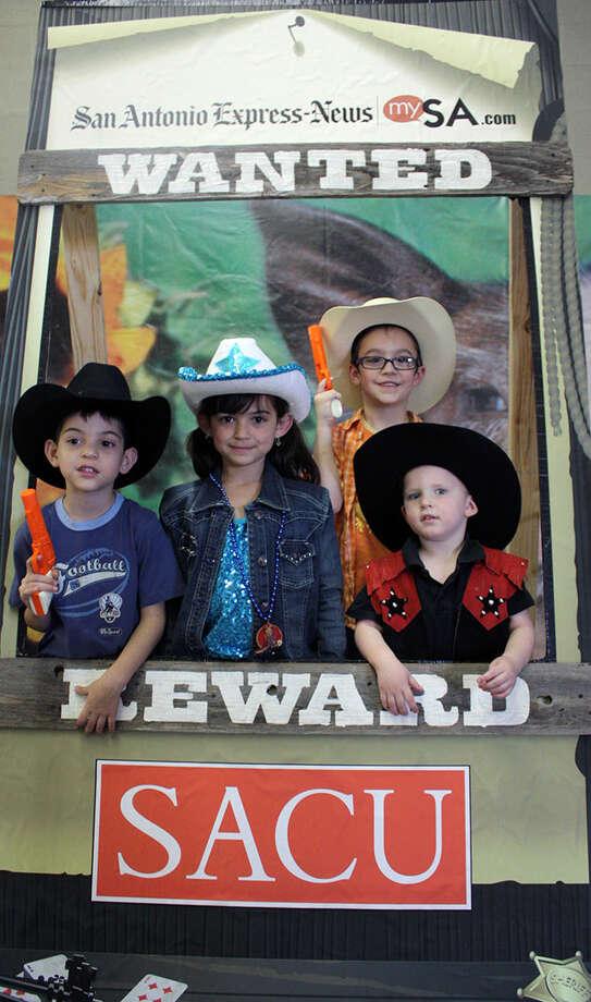 San Antonio Stock Show & Rodeo - Sunday, Feb. 24, 2013 Photo: San Antonio Express-News
