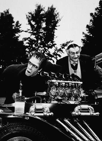 """The Munsters"" Koach was built by famed Hollywood car man George Barris (who also built the Batmobile). The 18-foot-long car was made up of three Ford Model-T bodies. Photo: Hulton Archive, Getty Images / 2003 Getty Images"