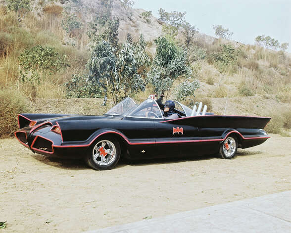 The original Batmobile was a modified version of the 1955 Lincoln Futura concept car and stands the test of time as the coolest television car in history. Photo: Silver Screen Collection, Getty Images / 2006 Getty Images