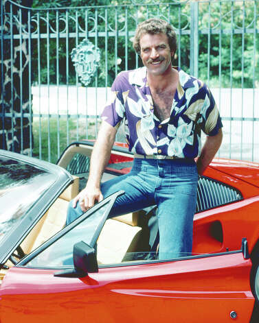 "Tom Selleck originally drove the red 1978 Ferrari 308 GTS as ""Magnum P.I."" Magnum went through three iterations of the 308 during filming. Photo: Silver Screen Collection, Getty Images / 2010 Getty Images"