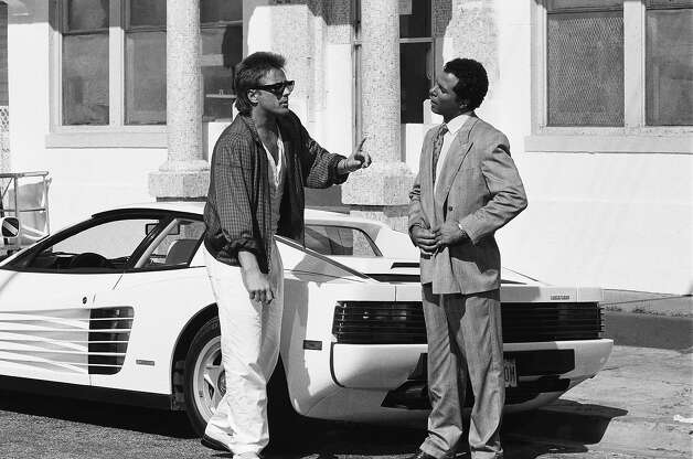 So for subsequent seasons, Ferrari provided producers with two white Ferrari Testarosas, which became more closely identified with the series. Photo: NBC, Getty Images / 2012 NBCUniversal, Inc.