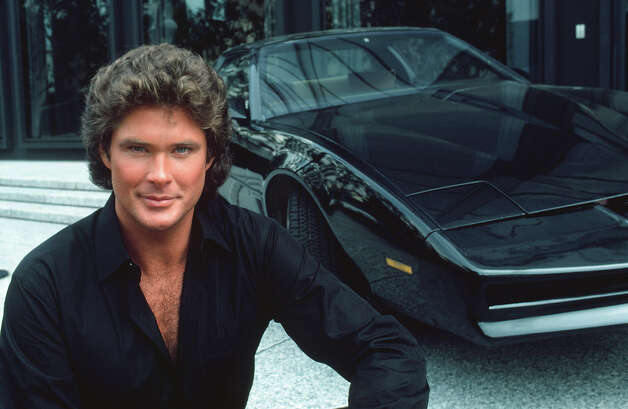 "David Hasselhoff's intelligent ride, the Knight Industries Two Thousand, or KITT, was a modified 1982 Pontiac Firebird who had the voice of Mr. Feeney from ""Boy Meets World."" Photo: NBC, Getty Images / 2012 NBCUniversal, Inc."