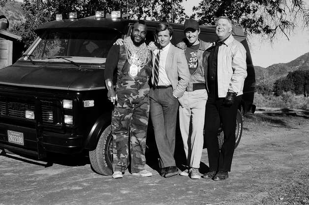 """The A-Team"" was pretty much unstoppable in the GMC Vandura van they drove throughout the series. Photo: NBC, Getty Images / © NBC Universal, Inc."