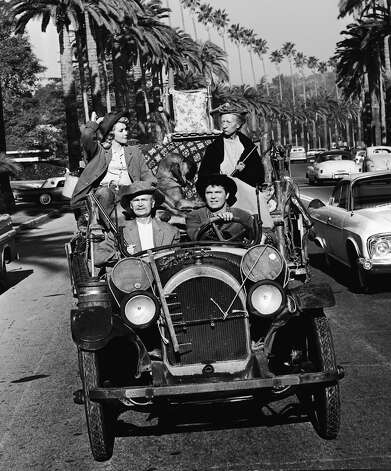 """The Beverly Hillbillies"" puttered around in a 1921 Oldsmobile with all of their belongings in tow. Photo: CBS Photo Archive, Getty Images / CBS"