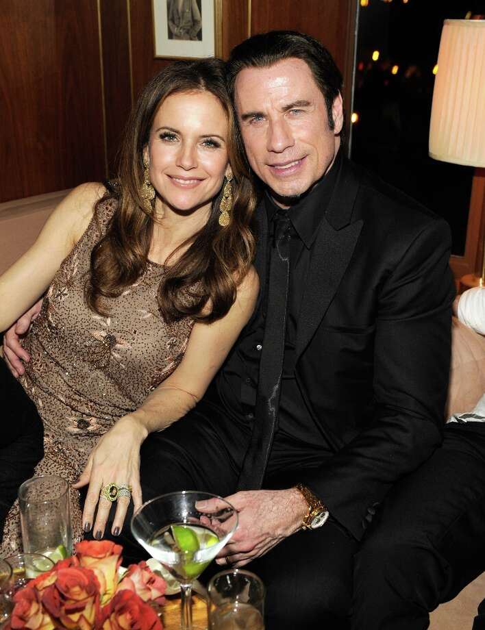 Kelly Preston and John Travolta  attend the 2013 Vanity Fair Oscar Party hosted by Graydon Carter at Sunset Tower on February 24, 2013 in West Hollywood, California. Photo: Kevin Mazur/VF13, WireImage / 2013 Kevin Mazur/VF13