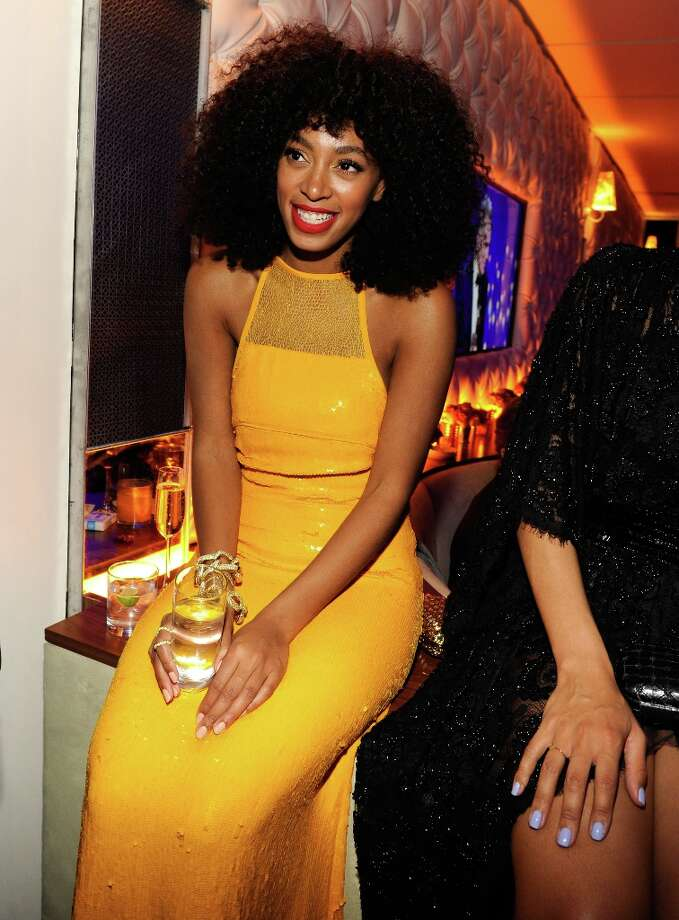 Solange Knowles attends the 2013 Vanity Fair Oscar Party hosted by Graydon Carter at Sunset Tower on February 24, 2013 in West Hollywood, California. Photo: Kevin Mazur/VF13, WireImage / 2013 Kevin Mazur/VF13