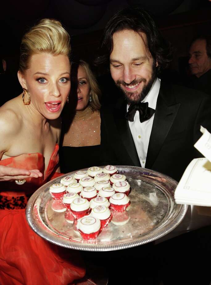 Actors Elizabeth Banks and Paul Rudd attend the 2013 Vanity Fair Oscar Party hosted by Graydon Carter at Sunset Tower on February 24, 2013 in West Hollywood, California. Photo: Jeff Vespa/VF13, WireImage / 2013 Jeff Vespa/VF13