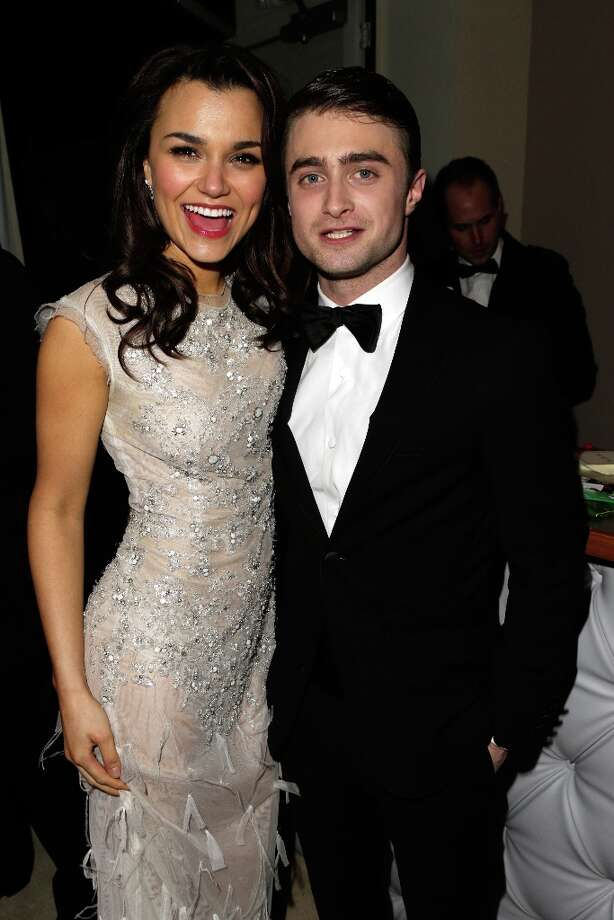 Actors Samantha Barks and Daniel Radcliffe attend the 2013 Vanity Fair Oscar Party hosted by Graydon Carter at Sunset Tower on February 24, 2013 in West Hollywood, California. Photo: Jeff Vespa/VF13, WireImage / 2013 Jeff Vespa/VF13
