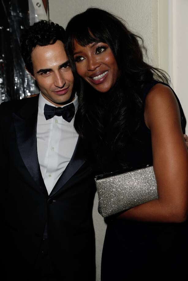 Designer Zac Posen and model Naomi Campbell attend the 2013 Vanity Fair Oscar Party hosted by Graydon Carter at Sunset Tower on February 24, 2013 in West Hollywood, California. Photo: Jeff Vespa/VF13, WireImage / 2013 Jeff Vespa/VF13