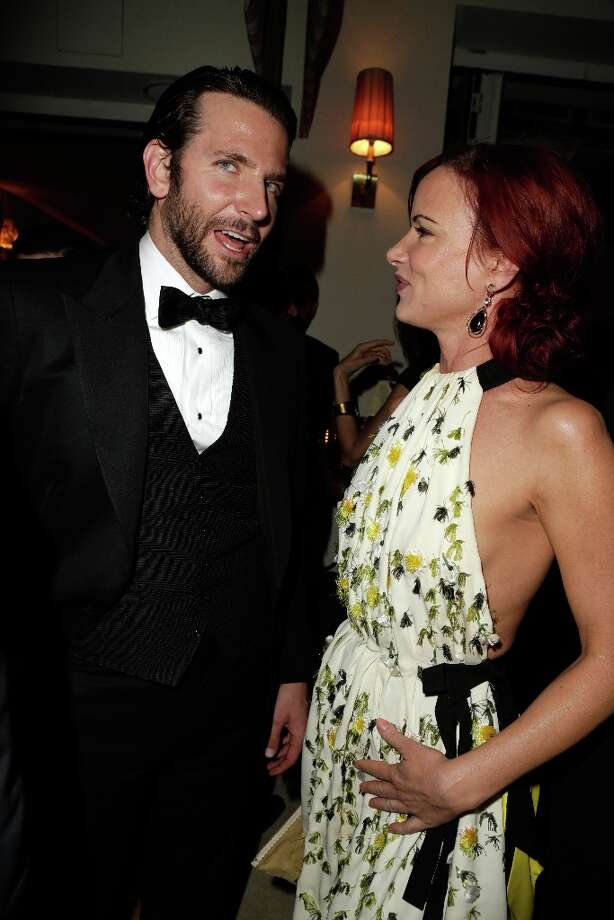 Actors Bradley Cooper (L) and Juliette Lewis attend the 2013 Vanity Fair Oscar Party hosted by Graydon Carter at Sunset Tower on February 24, 2013 in West Hollywood, California. Photo: Jeff Vespa/VF13, WireImage / 2013 Jeff Vespa/VF13