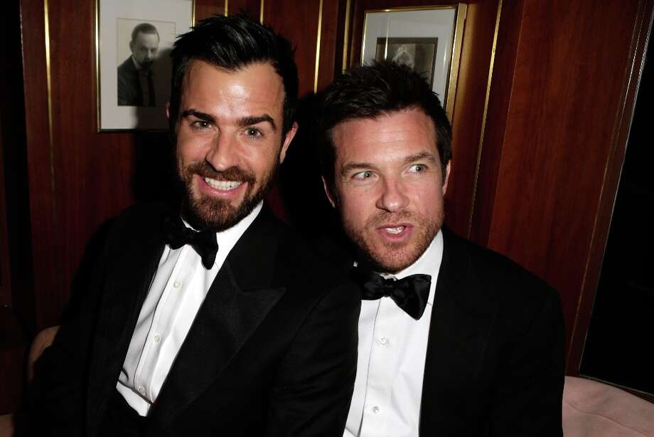 Actors Justin Theroux and Jason Bateman attend the 2013 Vanity Fair Oscar Party hosted by Graydon Carter at Sunset Tower on February 24, 2013 in West Hollywood, California. Photo: Jeff Vespa/VF13, WireImage / 2013 Jeff Vespa/VF13