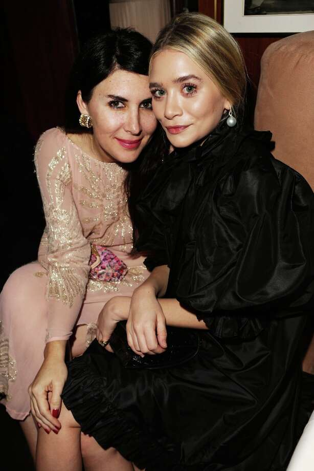 Christina Ehrlich (L) and Ashley Olsen attend the 2013 Vanity Fair Oscar Party hosted by Graydon Carter at Sunset Tower on February 24, 2013 in West Hollywood, California. Photo: Jeff Vespa/VF13, WireImage / 2013 Jeff Vespa/VF13