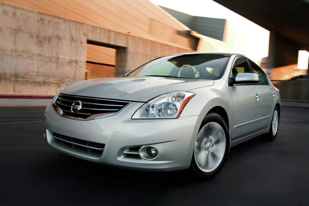9. Nissan Altima Source:LoJack