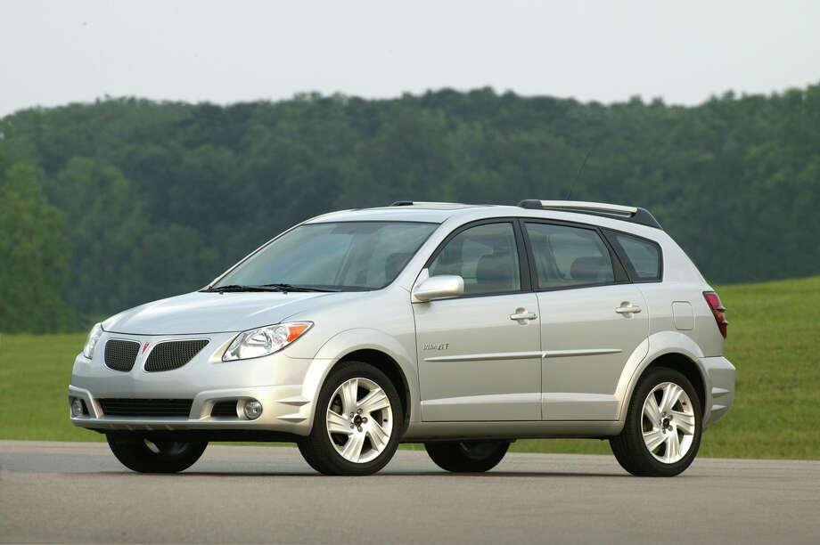Wagon: 2005-2010 Pontiac VibeSource: Edmunds Photo: GM/WIECK / PONTIAC