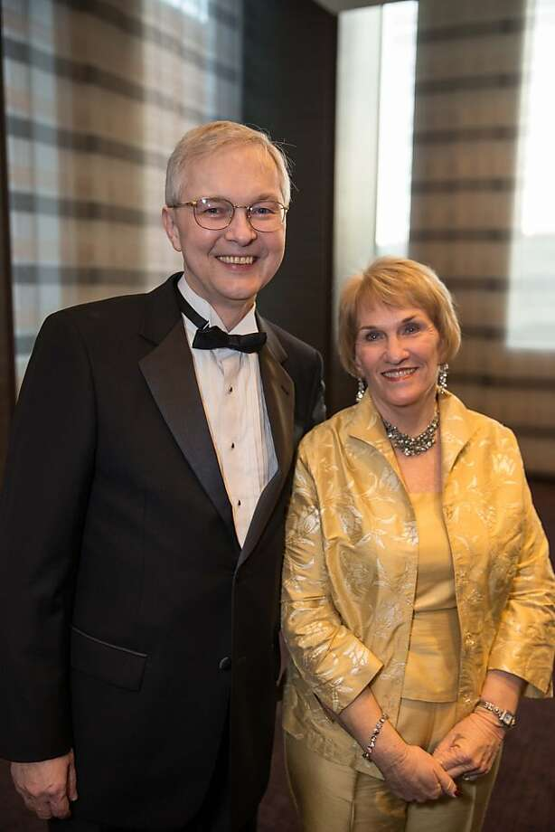 Ross Armstrong and Bonnie Bell at the Philharmonia Baroque Orchestra Winter Gala & Auction on February 22, 2013. Photo: Drew Altizer Photography