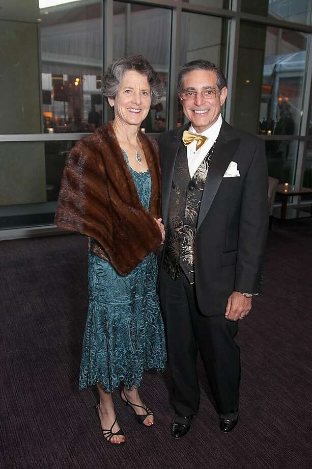 Susan and Paul Sugarman at the Philharmonia Baroque Orchestra Winter Gala & Auction on February 22, 2013. Photo: Drew Altizer Photography