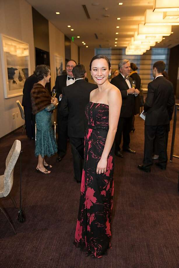 Rachel Lem at the Philharmonia Baroque Orchestra Winter Gala & Auction on February 22, 2013. Photo: Drew Altizer Photography
