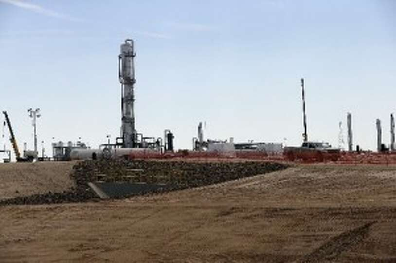 Anadarko is building a gas plant near Cotulla in La Salle County - the busiest place in the Eagle Fo