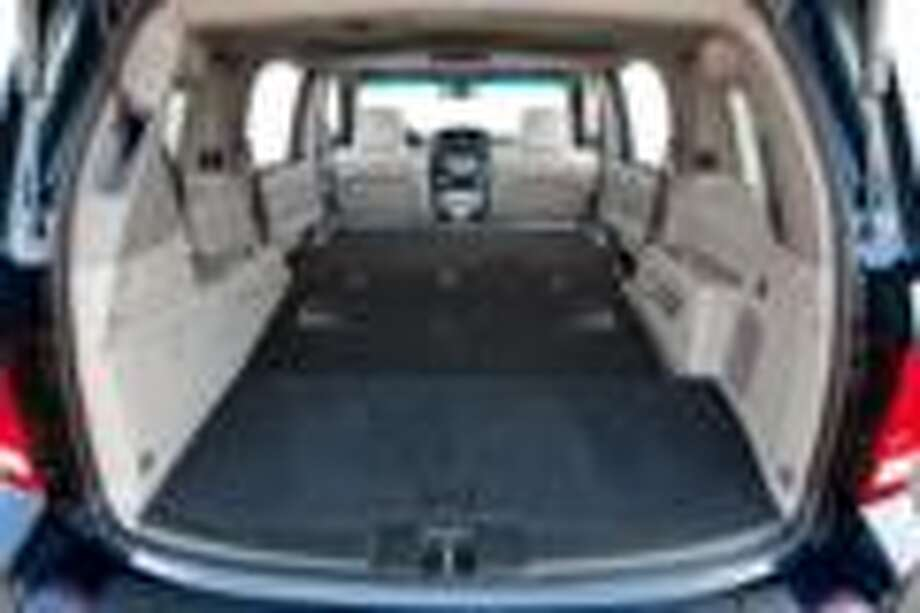 Honda Pilot cargo area