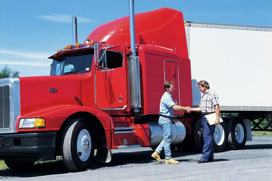 Houston is home base to many trucking companies (some of which are exclusively long-haul) looking for qualified employees ready to hit the road. Photo: Comstock / Comstock Images