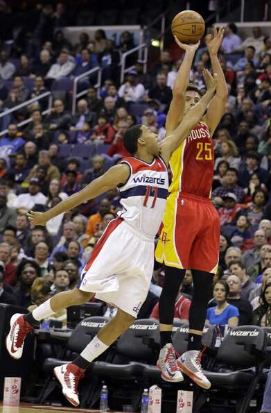Feb. 23: Wizards 105, Rockets 103Chandler Parsons scored 24 points in W