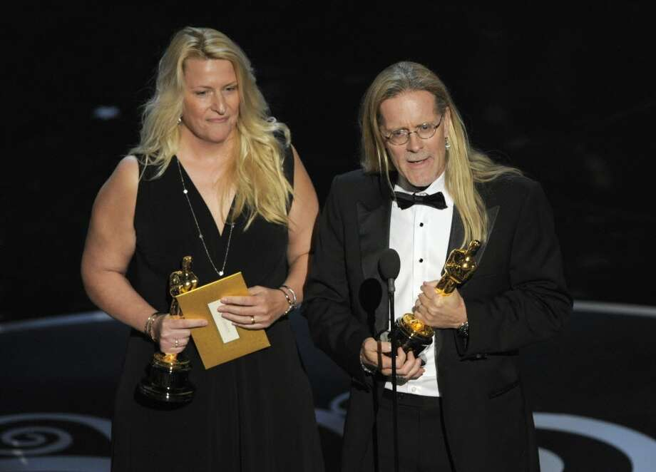 The sound editing team from 'Skyfall,' co-winner for best sound editing