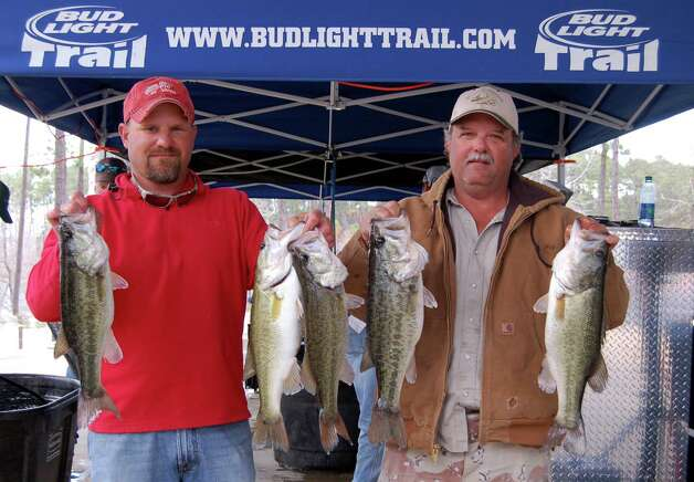 Norman Land and Travis Moore culled by ounces all day to achieve their 18.63 lb winning sack  Photo by Patty Lenderman, Lakecaster