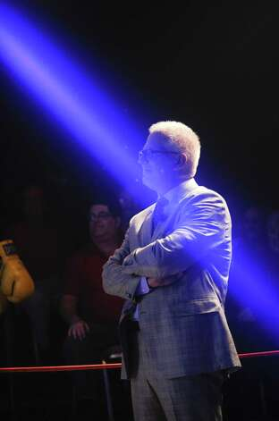"A reader takes exception to an  editorial that described Glenn Beck, shown here during the Dish Network War of the Words last fall in New York, as a figure who defines ""far out"" politics. Photo: Kris Connor / Getty Images For Dish Network"