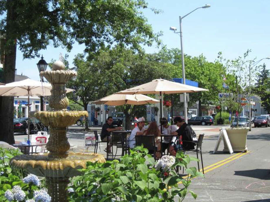 On the condition firmer details are given about maintenance and how the park will be run, officials gave the go ahead last week for the Pop Up Park at South Avenue and Elm Street to operate through the summer. Photo: File Photo
