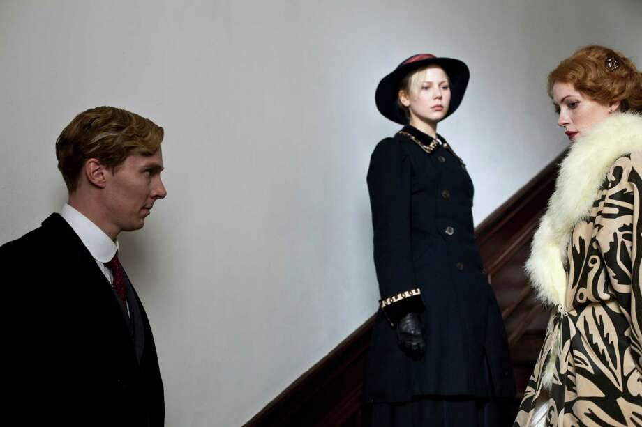 PARADE'S END: Benedict Cumberbatch, Adelaide Clemens, Rebecca Hall. Photo: Nick Briggs, Handout / ONLINE_YES