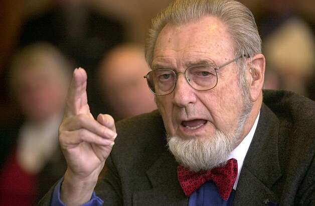 After leaving his post as surgeon general in 1989, Dr. C. Everett Koop continued to promote public-health causes. Photo: Jim Cole, Associated Press