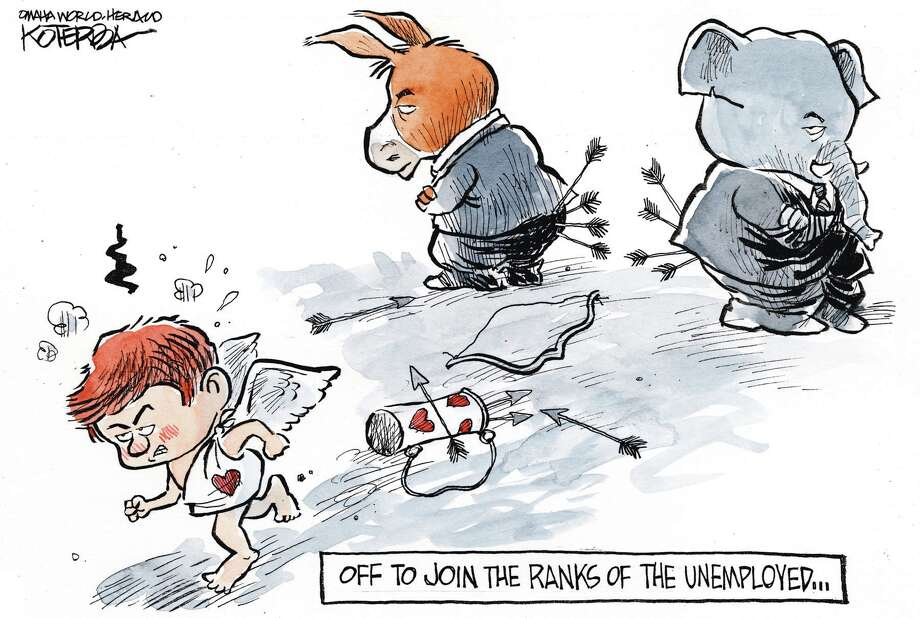 Jeff Koterba cartoon for February 13, 2013