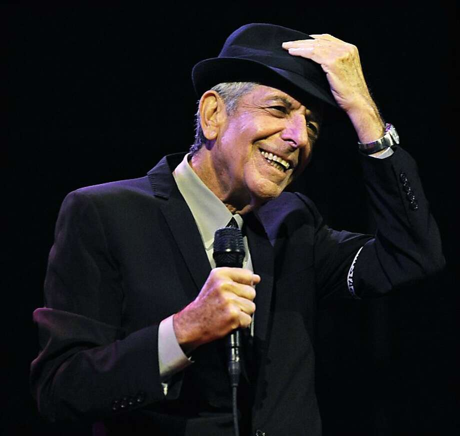"FILE - In this April 17, 2009 file photo, Leonard Cohen performs during the first day of the Coachella Valley Music & Arts Festival in Indio, Calif. It's hard to think of any song that has taken a stranger journey through popular culture than Leonard Cohen's ""Hallelujah."" Author Alan Light's book, ""The Holy or the Broken,"" releasing on Dec. 4, 2012, is about the trajectory of the song, ?Hallelujah,? and about Cohen and its most celebrated singer, the late Jeff Buckley. (AP Photo/Chris Pizzello, File) Photo: Chris Pizzello, Associated Press"