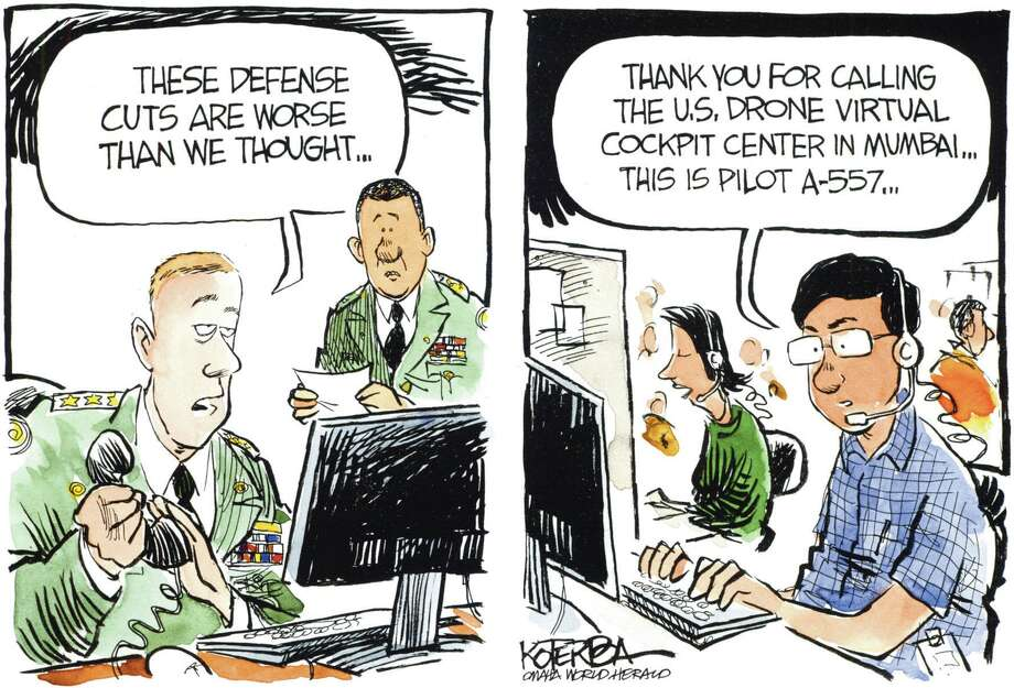 Jeff Koterba color cartoon for 2/1/2012