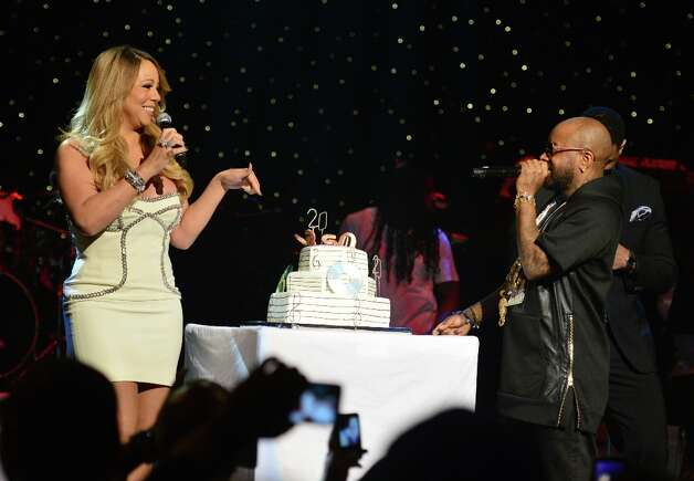 Mariah Carey and Jermaine Dupri attend the So So Def 20th anniversary concert at the Fox Theater on February 23, 2013 in Atlanta, Georgia. Photo: Prince Williams, Getty Images / 2013 Prince Williams