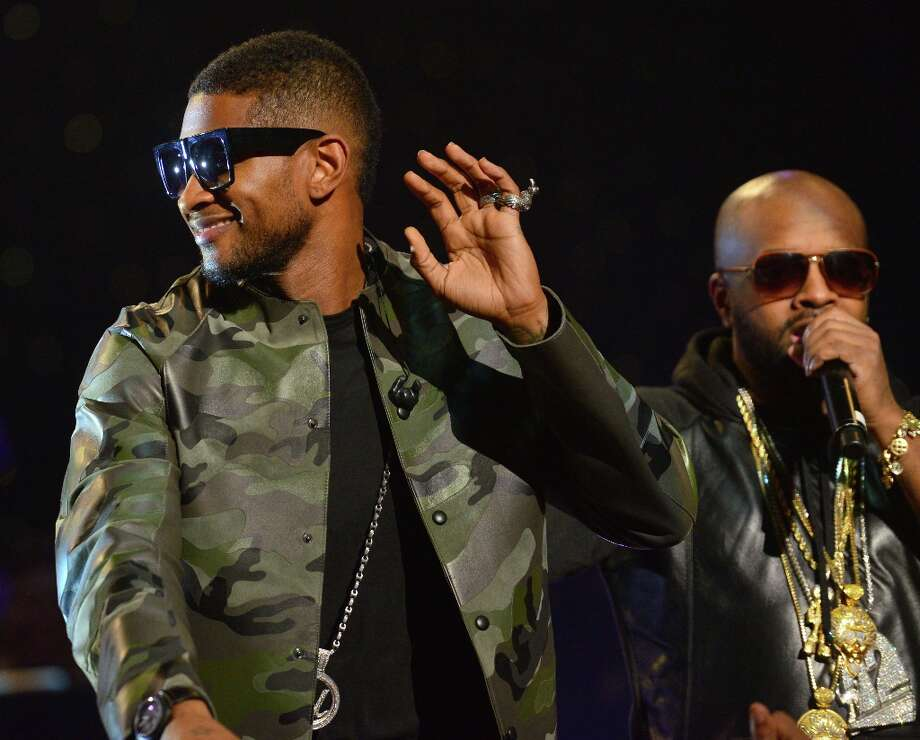 Usher and Jermaine Dupri perform at the So So Def 20th anniversary concert at the Fox Theater on February 23, 2013 in Atlanta, Georgia. Photo: Prince Williams, Getty Images / 2013 Prince Williams