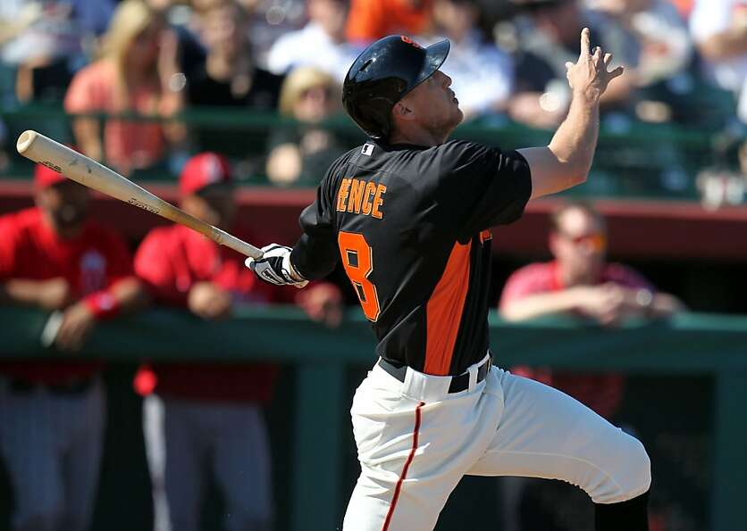 In his quirky way, Giants outfielder Hunter Pence attacks the game with a raw intensity that can'